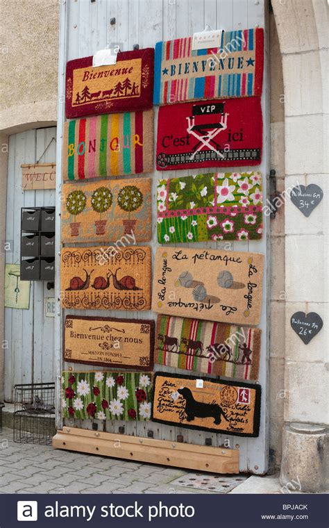 Doormats Shopping by Doormats On Display Outside A Shop In The