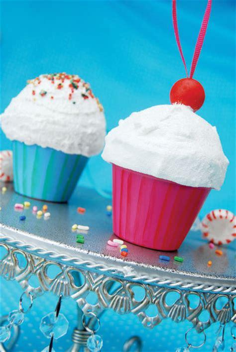 styrofoam cupcake ornament cupcake ornaments favecrafts