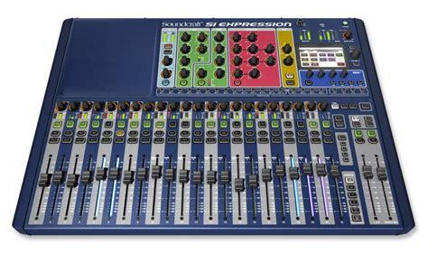 digital audio console soundcraft si expression 2 digital audio console
