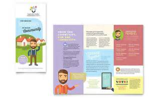 Templates For Publisher by Tri Fold Brochure Templates Indesign Illustrator Publisher