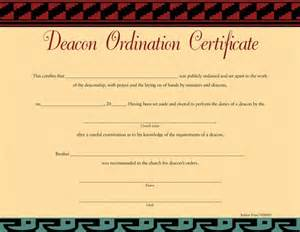 deacon ordination certificate template ordination certificate templates free ebook database