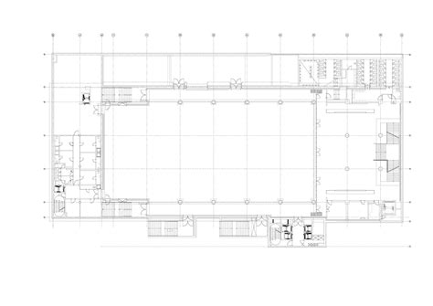 multi purpose hall floor plan gallery of multipurpose hall forum karl 237 n atelier 8000 20