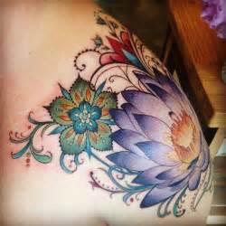 Colorful Lotus Tattoos Best 25 Colorful Mandala Ideas On