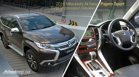 mitsubishi indonesia 2016 review interior mitsubishi all new pajero sport indonesia