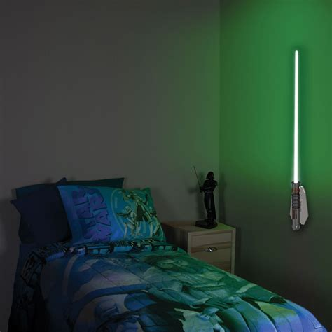 wars remote controlled lightsaber room light lightsaber lights are a more light fixture for a more civilized age