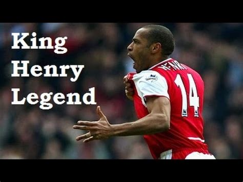 arsenal legend thierry henry legend arsenal legend thierry henry youtube