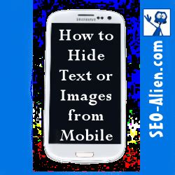 css code for mobile website css html code to hide text images or from a mobile