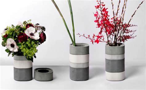 Magazine Vase Diy by Diy Concrete Flower Vase Daily Magazine Design