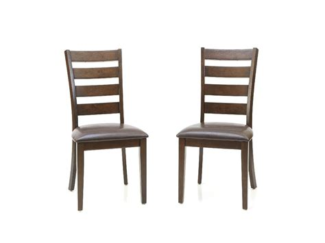 ladder back chairs intercon dining room kona ladder back side chair ka ch