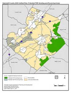 map of gwinnett county rural estate sector