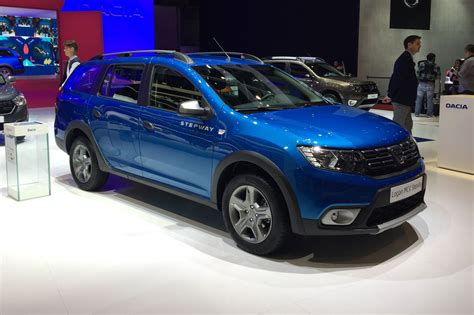 logan stepway now with added chunk dacia lifts lid on logan mcv stepway