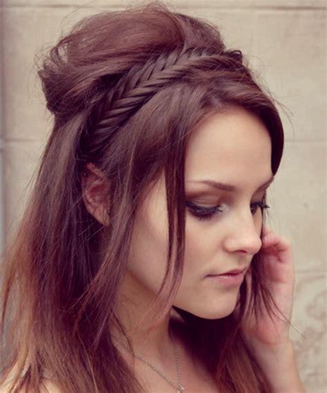 peinados en trenzas con pelo largo paperblog trenzas en pelo largo