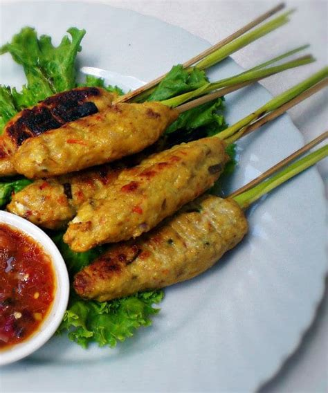 sate lilit masakan khas bali resepkokico