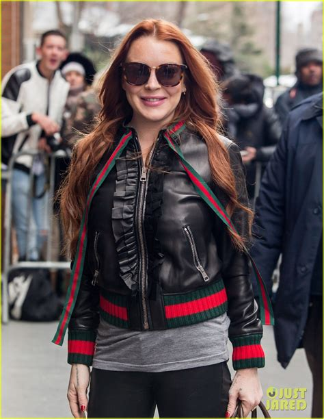 Lindsay Back In The by Lindsay Lohan Was Scared To Come Back To The United States