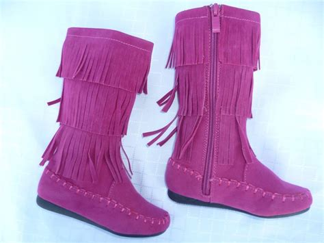 toddlers boots fuchsia toddler boots shoes candice size 4 8 ebay