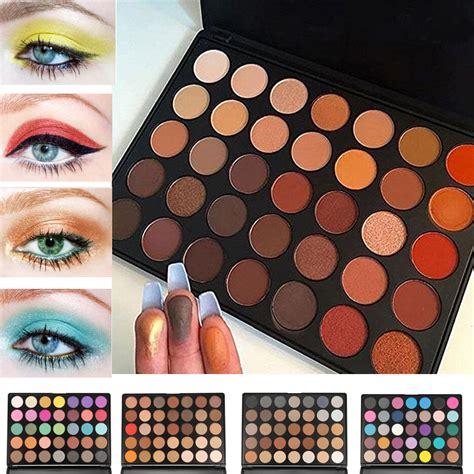 35 Colors Shimmer Pearl Matte Eyeshadow Palette Eye Makeup Color Eyeshadow
