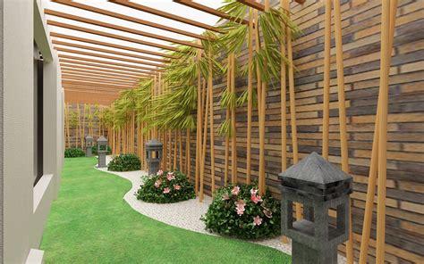 Nomor Rumah Kayu Pot Landscape tukang taman profesional jual tanaman hias murah jasa