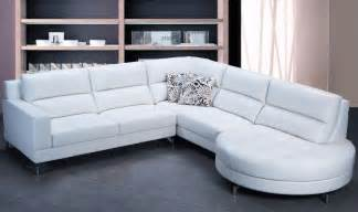 Leather Sectional Sofa Set The Best White Leather Sectional Sofa S3net Sectional