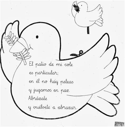 imagenes de palomas blancas para imprimir palomas de la paz para colorear e imprimir imagui
