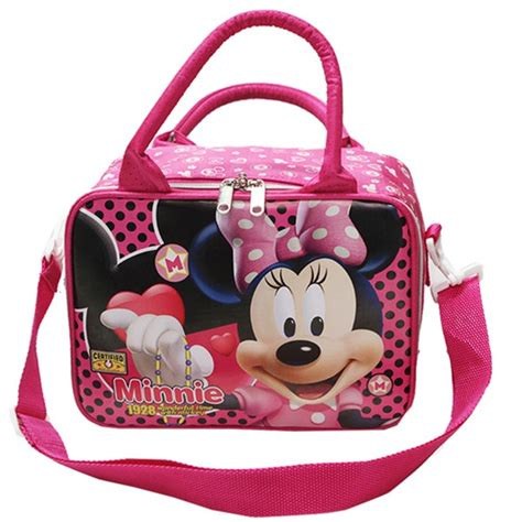 Tas Wanita Minnie Mouse travel bag mini jinjing ada tali selempang karakter minnie