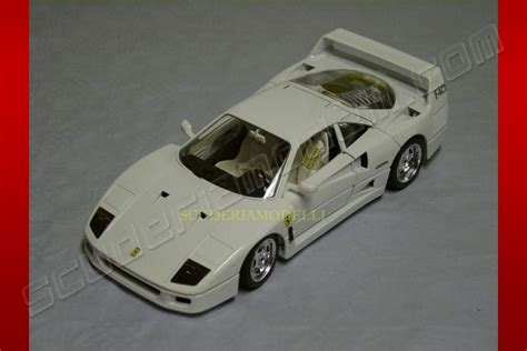 Burago Enzo Model Car Limited Edition 1 bburago 1987 f40 white white