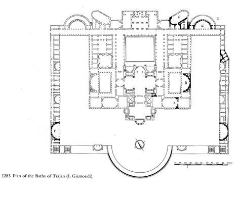 Fishbourne Roman Palace Floor Plan trajan plans