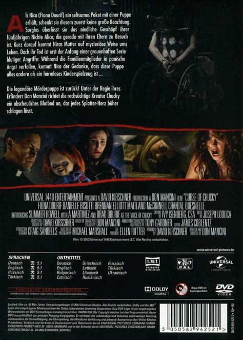 chucky film deutsch komplett chucky 6 curse of chucky dvd oder blu ray leihen
