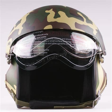 Motorradhelm P10 neu motorradhelm rollerhelm jethelme luftwaffe pilot