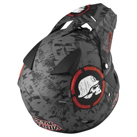 metal mulisha motocross helmet msr closeouts revzilla
