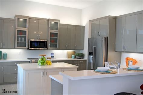 slab door kitchen cabinets slab front kitchen cabinets northshore millwork llc