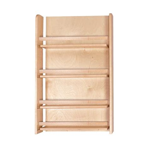 Spice Cabinets With Doors by Century Components Unassembled Door Mount Spice Rack 18