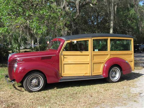 woody ford service 1939 ford woody wagon for sale classiccars cc 977010