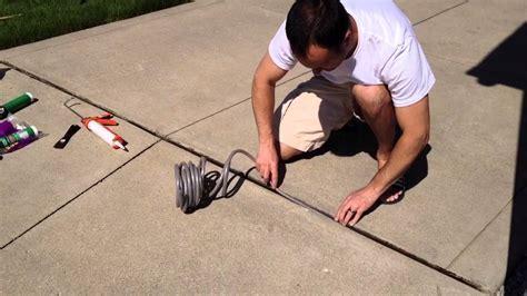 DIY Repair Driveway Expansion Joints   FunnyDog.TV