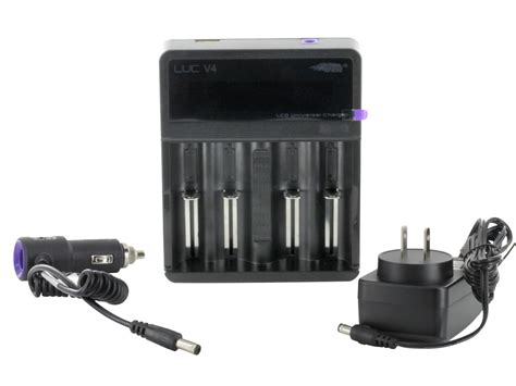 efest luc 4 bay charger efest luc v4 4 bay charger with digital lcd battery readout