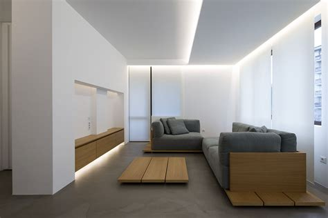 Minimalistic Interior Design by Elia Nedkov Designs A Minimalist Interior In Sofia Bulgaria