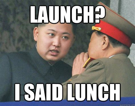 Un Meme - launch hungry kim jong un know your meme