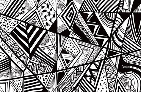 pattern drawing tribal tribal abstract hand drawn patterns on behance