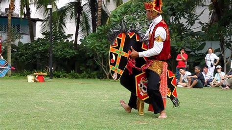 Ad Kepang kuda kepang performance at heritage centre singapore