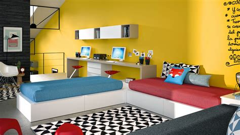 habitaciones juveniles con dos camas dormitorios juveniles para dos hermanos