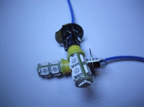 yellow led fog light bulbs 2x h3 9 smd yellow led car fog light bulb 12v ebay