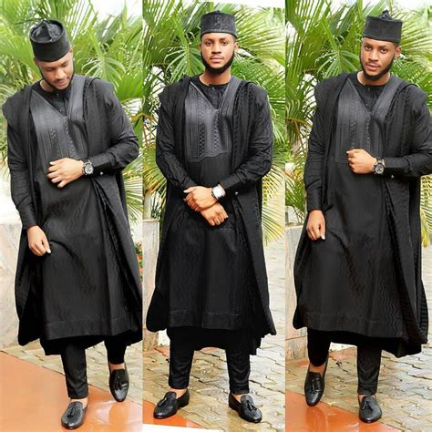 latest styles of native wears in nigeeia african men agbada style fashion yoruba demon edited