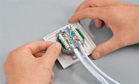 wie baue ich eine le an die decke netzwerkdose elektroinstallation selbst de