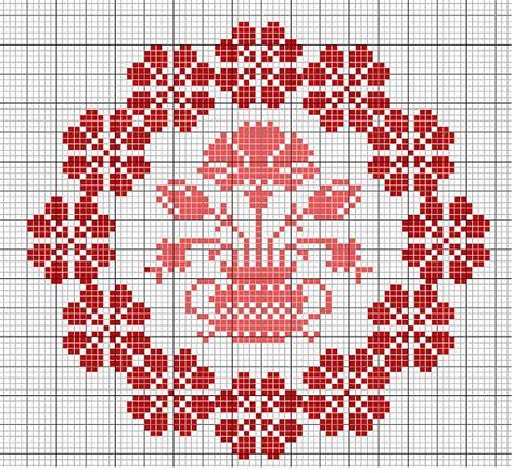 imagenes flores en punto de cruz plantilla punto de cruz flores imagui