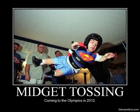 Midget Memes - midget tossing demotivational poster fakeposters com