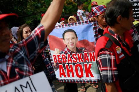 ahok latest news jakarta s christian governor given two year sentence