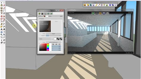 tutorial maxwell render sketchup maxwell free for sketchup 8 youtube