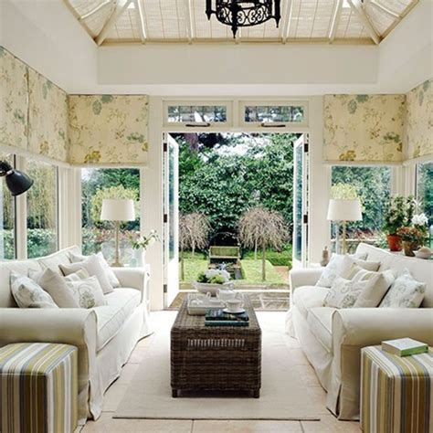 Ideas For Conservatory Interiors by Conservatory Room Furniture And Decoration Interior Design