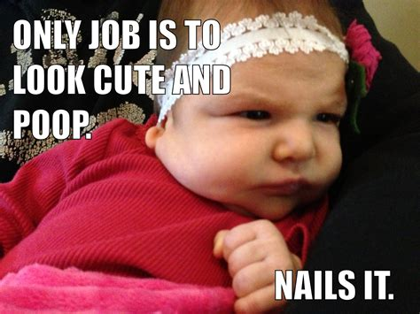 Cute Baby Meme - five things mostly about babies 187 archives of our lives
