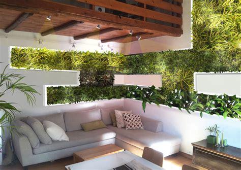 giardini verticali roma vivacizzare il soggiorno con un giardino verticale