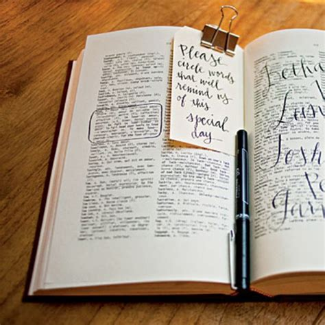 book ideas picture of non traditional and creative wedding guest book
